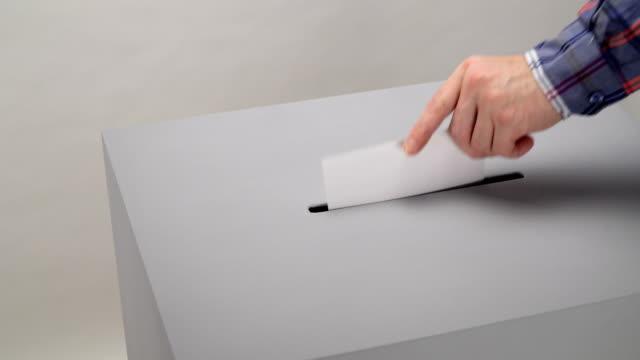 vidéos et rushes de scrutin et élections - picto urne
