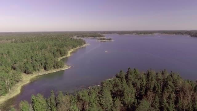 arcipelago del mar baltico - arcipelago video stock e b–roll