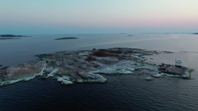 östersjö skärgård - drone helsinki bildbanksvideor och videomaterial från bakom kulisserna