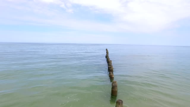 Baltic Sea Breakwater video