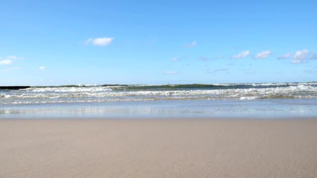 Baltic Sea waves video