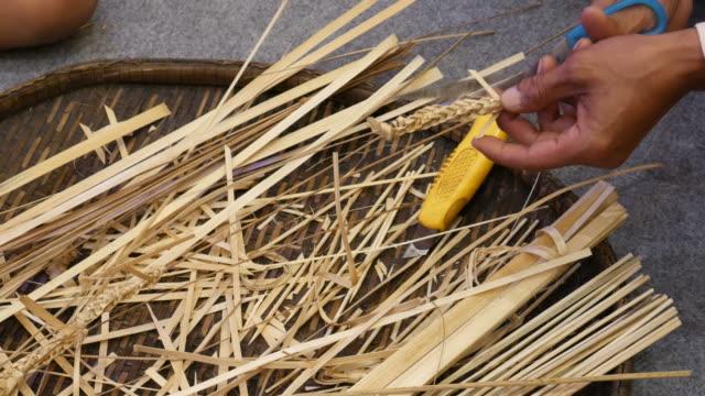 Bamboo craft, Thailand video