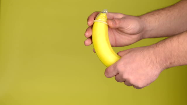 Banana and condom video