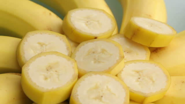 Banana slices video