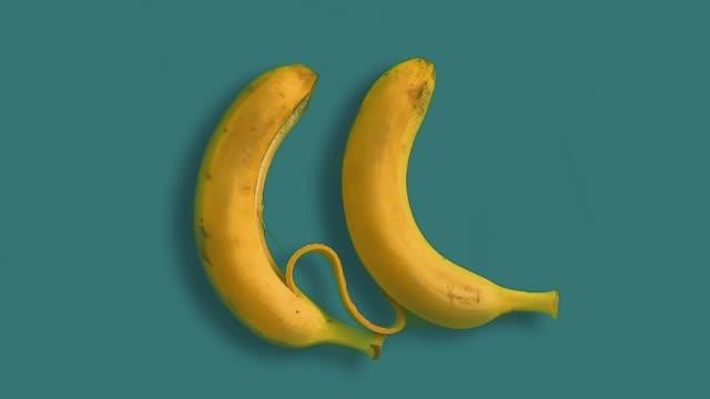 バナナが大好き - バナナ点の映像素材/bロール