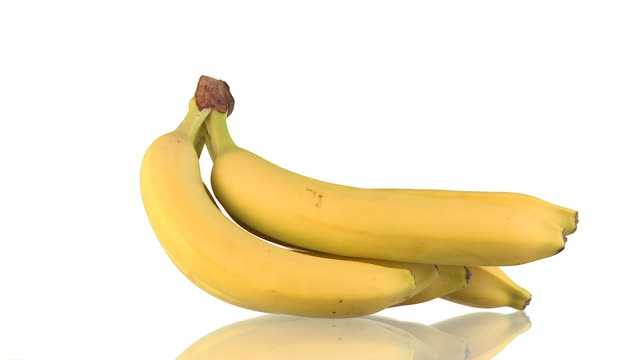 stockvideo's en b-roll-footage met hd loop: bananas - tropisch fruit