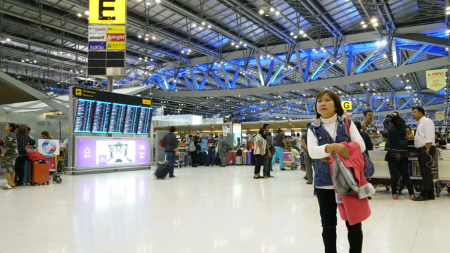 Bangkok airport video