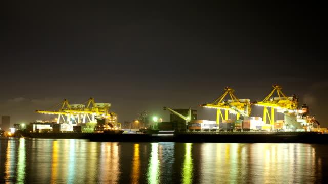 Bangkok Harbour, Cargo Terminal video