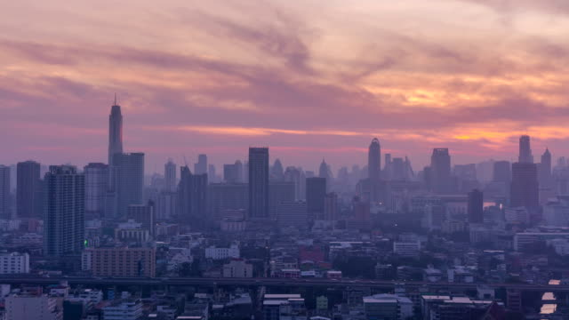 Bangkok Skyline video
