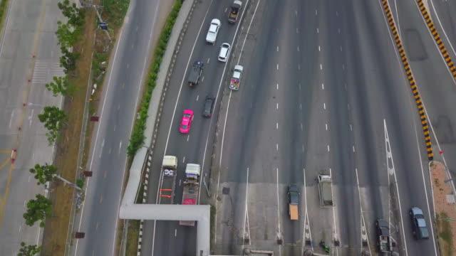 vídeos y material grabado en eventos de stock de autopista de peaje de bangkok - porcelana china
