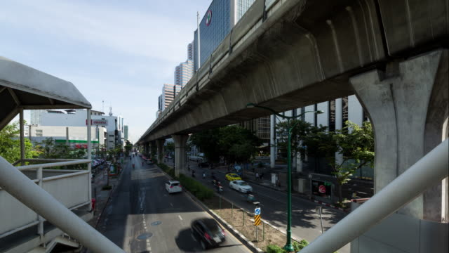 Bangkok Traffic Timelapse video