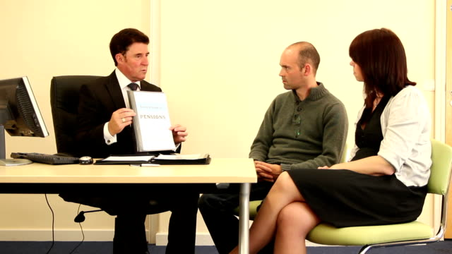 Bank Manager / Financial Advisor - Pensions (Dolly) video
