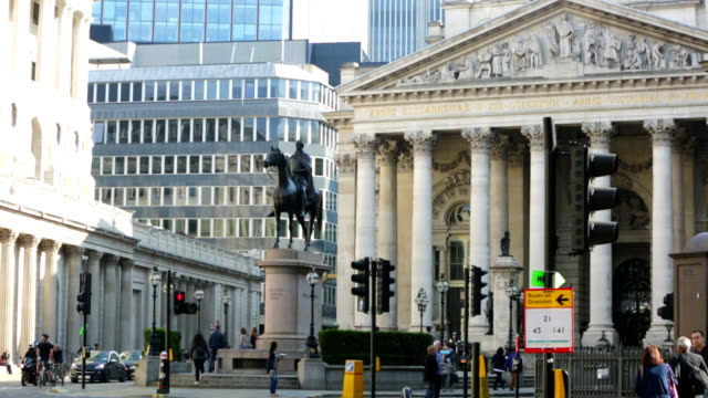 Bank of England, City of London. video