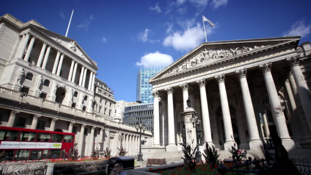 Bank of England London video