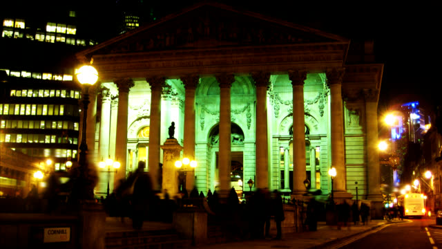 Bank of England timelapse HD video