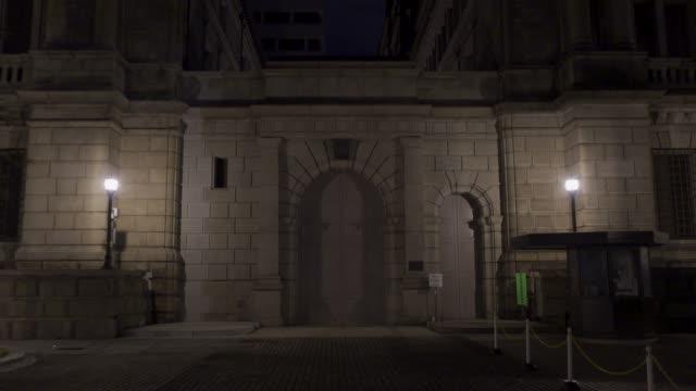 東京の日本銀行の風景 - 日本銀行点の映像素材/bロール