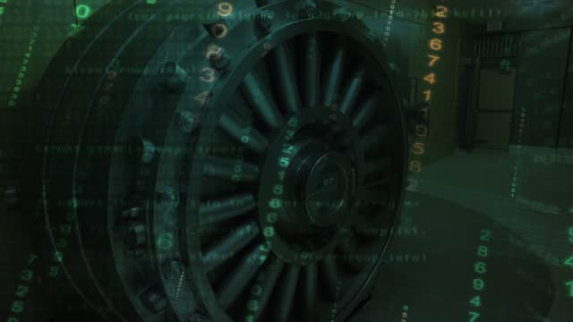 Bank Vault being burned, a concept of financial crisis and diminishing return from investments or a concept of digital hacking of financial system Bank Vault being burned, a concept of financial crisis and diminishing return from investments or a concept of digital hacking of financial system. safes and vaults stock videos & royalty-free footage