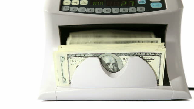 Banknote counter video