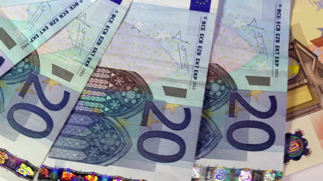 EU banknotes video