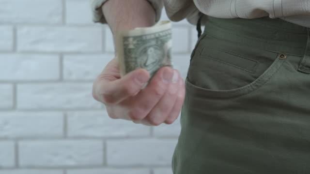bankruptcy. - dollar bill stock videos & royalty-free footage