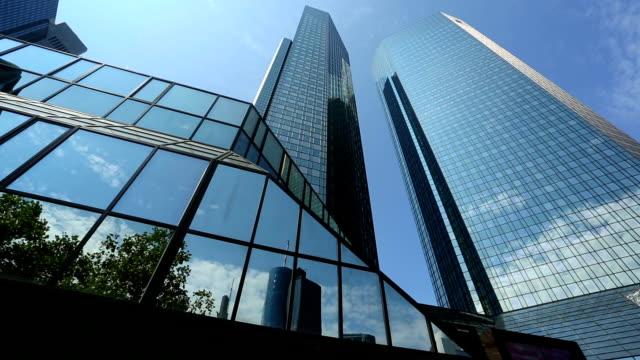 Banks in Frankfurt, Panning video