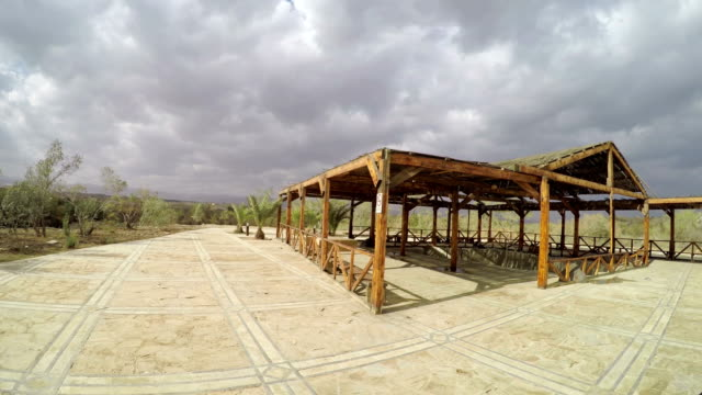 Baptism Site, Jordan. Bastism Site is the place where Jesus of Nazareth was baptized by John the Baptist. video