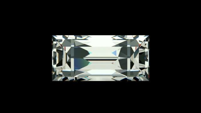 Baquette cut diamond video
