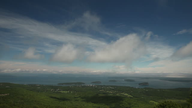 Bar Harbor Maine from Accadia National Park video