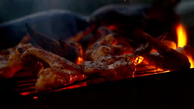 Barbecue. BBQ video