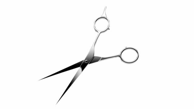 Barber scissors video
