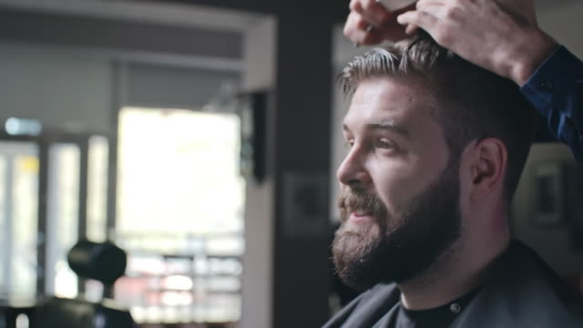 Barber with Amazing Hairdressing Skills video