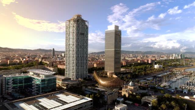 Barcelone Port Olimpic - Vidéo