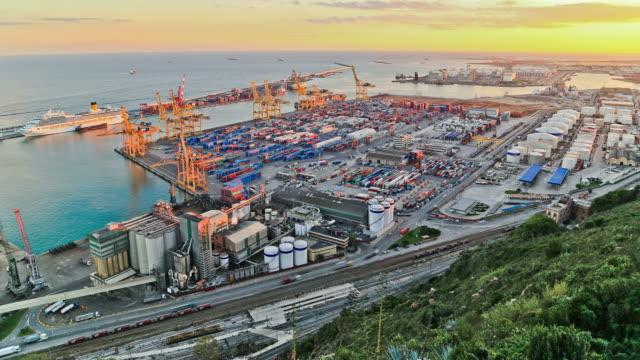 Barcelona Shipyard Time Lapse video