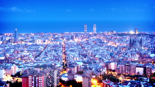 Barcelone, Espagne - Vidéo
