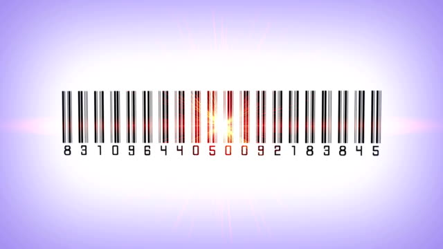 Barcode scanner with laser beam video