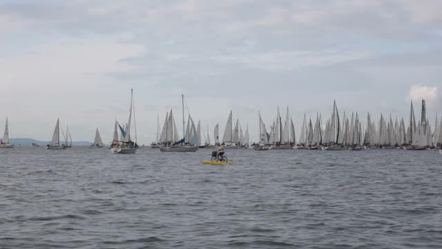 Barcolana regatta 2012 in Trieste video