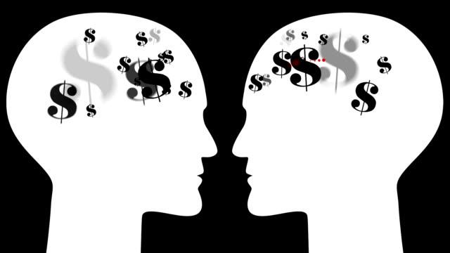 BRAINS : bargaining, dollar (LOOP)