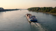 istock barge transports shipping on Rhine river 1279205891