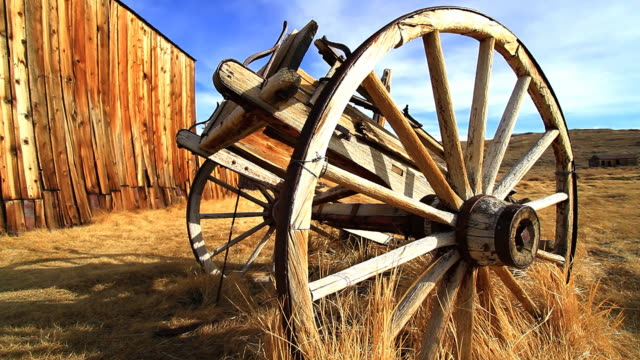 Barn and Wagon video