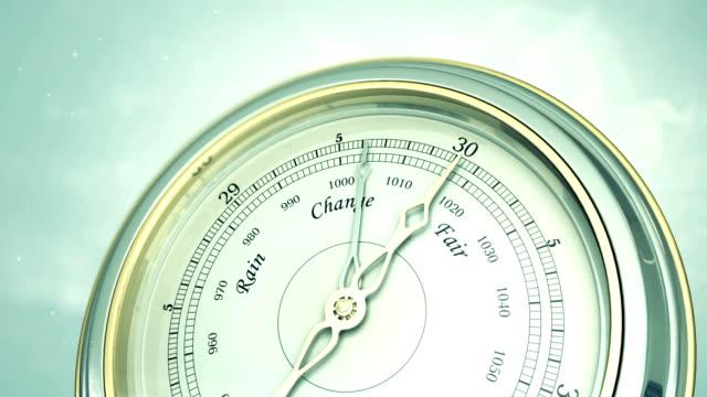 barometer - stratosphäre stock-videos und b-roll-filmmaterial