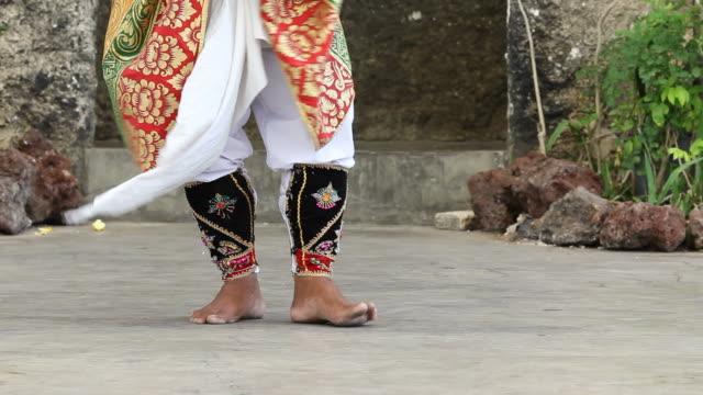Barong dance step video