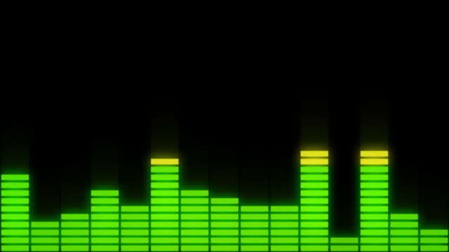 EQ Bars with Alpha Channel FOUR-COLOUR