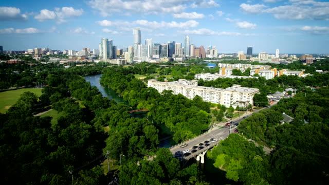 Barton Creek Bridge and green Landscape of Austin Texas