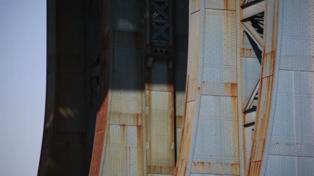Base Of Manhattan Bridge NYC video