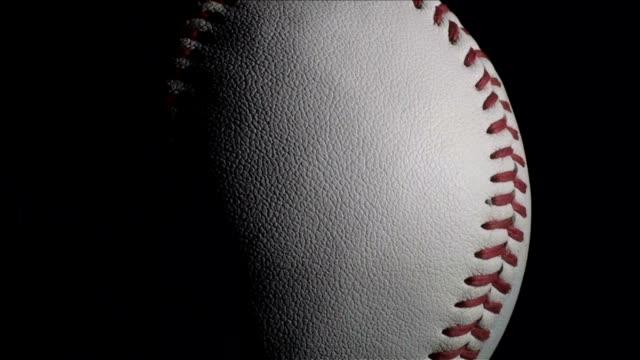 Béisbol contra negro, lazo HD - vídeo