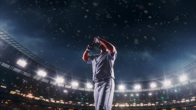 Baseball express positive emotions video