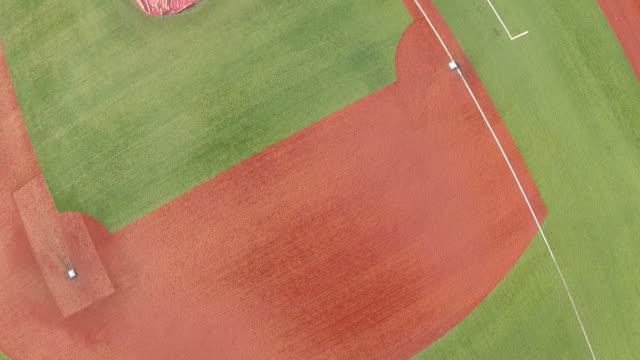 vídeos y material grabado en eventos de stock de campo de béisbol - sófbol