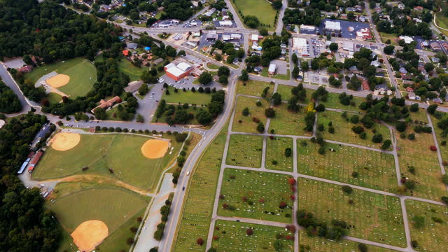 Baseball Fields and Cemetery video