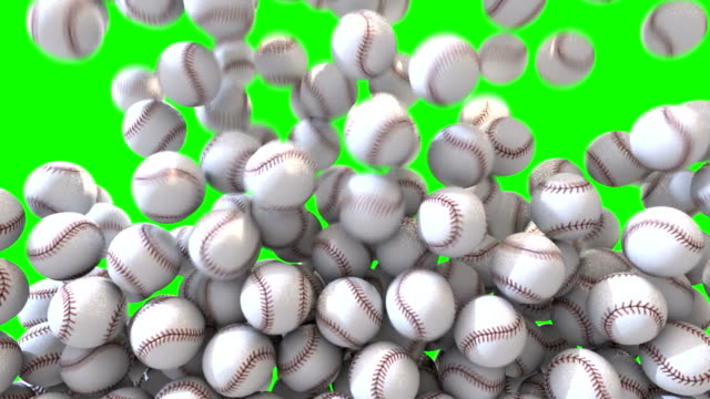 Baseball fill screen transition overlay composite video