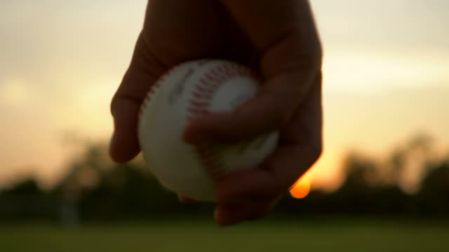 baseball game from grass - baseball stock videos and b-roll footage